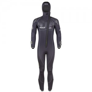 BEUCHAT Focea Comfort 6 Full Suit Man with hood-attached
