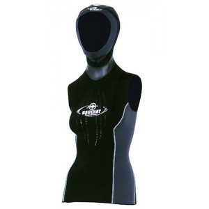 BEUCHAT Focea 2.5mm Undervest with Attached Hood Woman