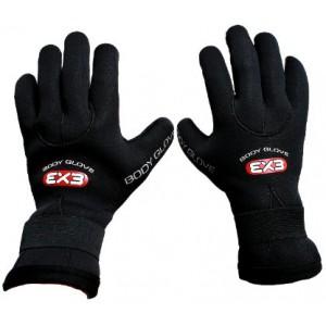 BODY GLOVE EX3 3mm Five Fingers Gloves