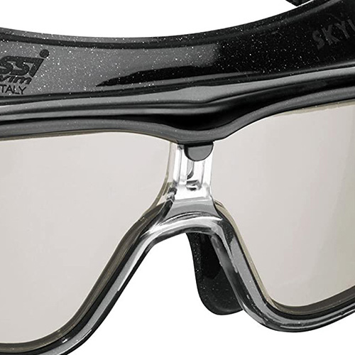 Black Blue//Smoked Lenses Cressi Flash Adult Swim Goggles