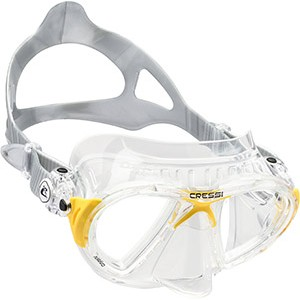 Cressi Nano, Two Lens Black Mask - DS365050