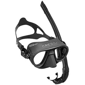 CRESSI Calibro Mask + Corsica Snorkel Combo Set