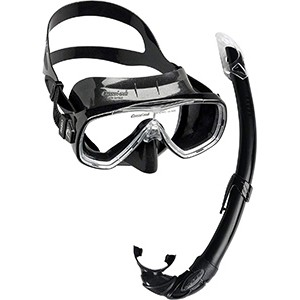 CRESSI Onda Mare Combo Set (Onda Mask & Mexico Snorkel)