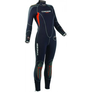 CRESSI Lontra Full Suit 7mm Semi Dry Lady