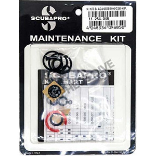 Scubapro S600 S550 G500 G250 HP Service Repair Kit