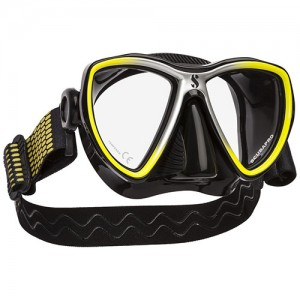 SCUBAPRO Synergy Mini Two Lens Mask with Comfort Strap